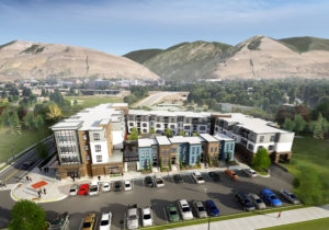 student housing and mount sentinel