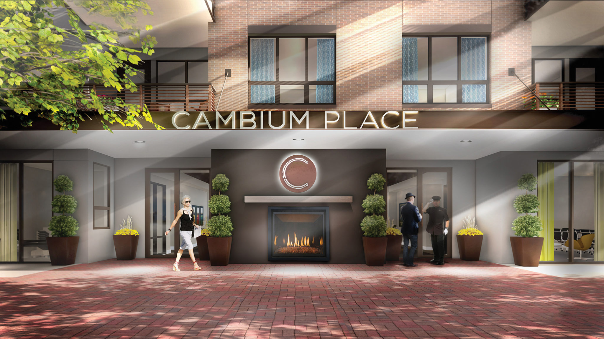 cambium place entrance